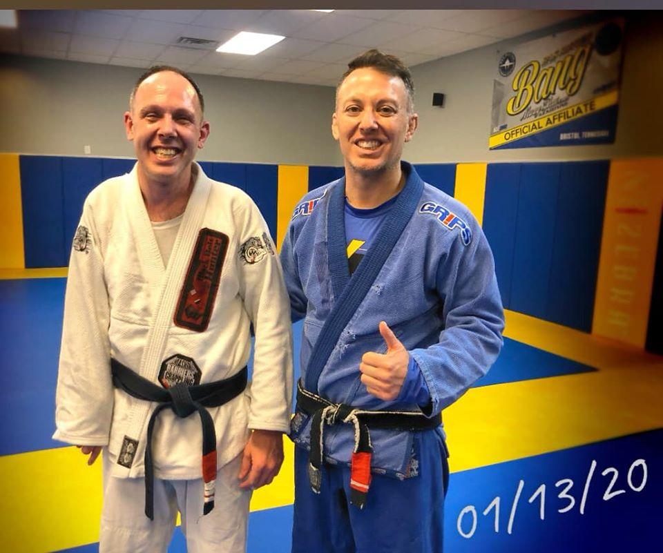 Aaron Lapointe seminar at Absolute jiu jitsu in Bristol.