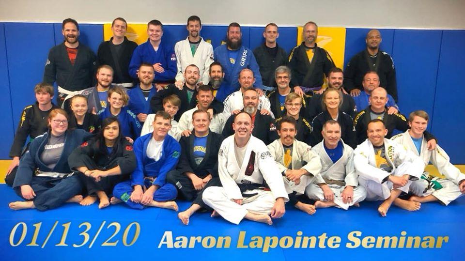 Aaron Lapointe Jiu Jitsu